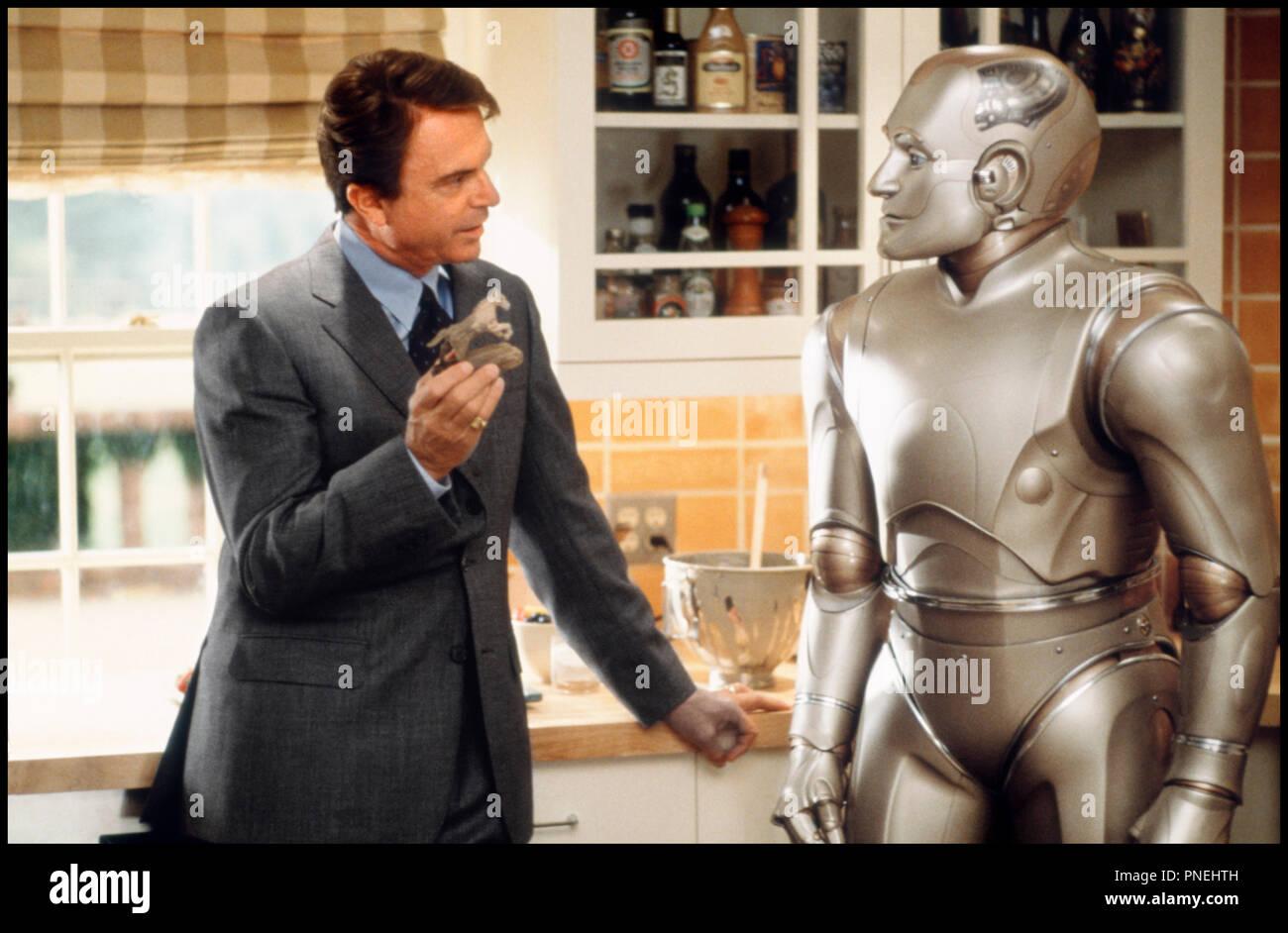 Prod DB © Columbia / DR L'HOMME BICENTENAIRE (BICENTENNIAL MAN) de Chris Columbus 1999 USA avec Sam Neill et Robin Williams robot, cuisine d'apres le roman de Isaac Asimov - Stock Image