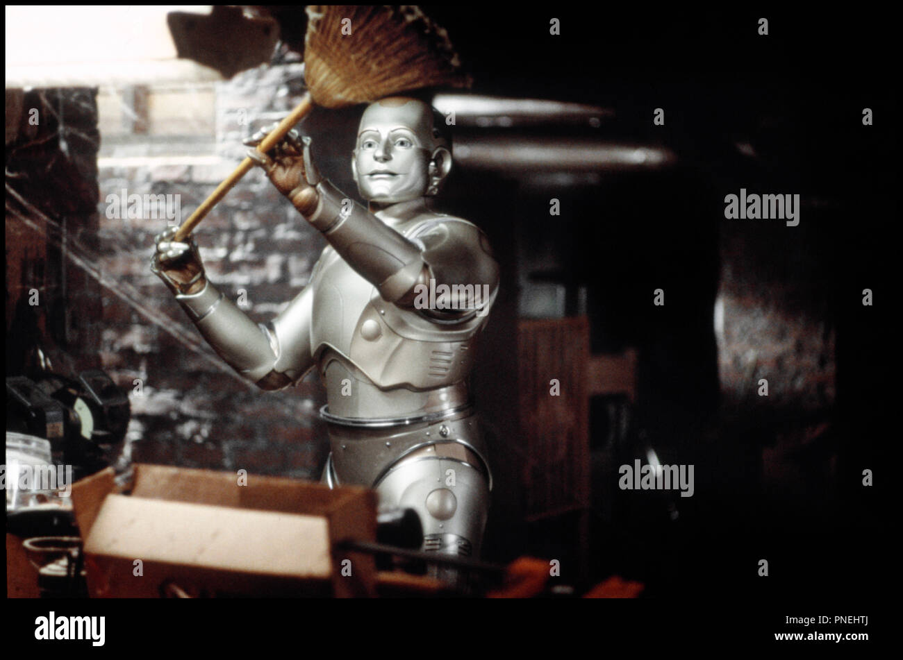 Prod DB © Columbia / DR L'HOMME BICENTENAIRE (BICENTENNIAL MAN) de Chris Columbus 1999 USA avec Robin Williams robots,  d'apres le roman de Isaac Asimov - Stock Image