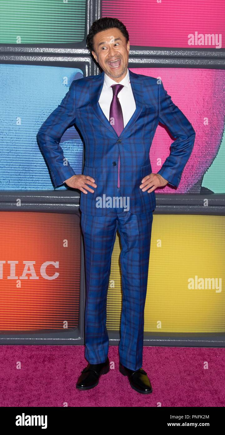 New York, NY, USA. 20th Sep, 2018. Rome Kanda at arrivals for MANIAC Season One Premiere on NETFLIX, Center 415, New York, NY September 20, 2018. Credit: RCF/Everett Collection/Alamy Live News - Stock Image