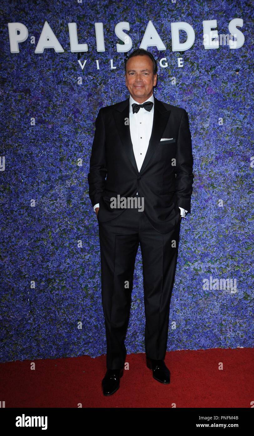 Pacific Palisades, CA. 20th Sep, 2018. Rick Caruso at arrivals for Caruso's Palisades Village Opening Gala, Palisades Village, Pacific Palisades, CA September 20, 2018. Credit: Elizabeth Goodenough/Everett Collection/Alamy Live News Stock Photo