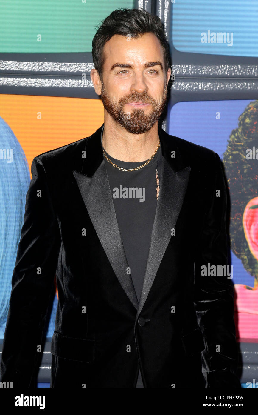 New York, USA. 20th Sep, 2018. Justin Theroux at the premiere of the Netflix miniseries 'Maniac' at Center 415. New York, 20.09.2018 | usage worldwide Credit: dpa/Alamy Live News - Stock Image