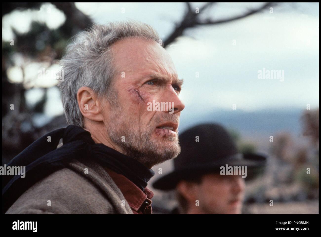 Prod DB © Malpaso - Warner Bros / DR  IMPITOYABLE (UNFORGIVEN) de Clint Eastwood 1992 USA  avec Clint Eastwood portrait - Stock Image