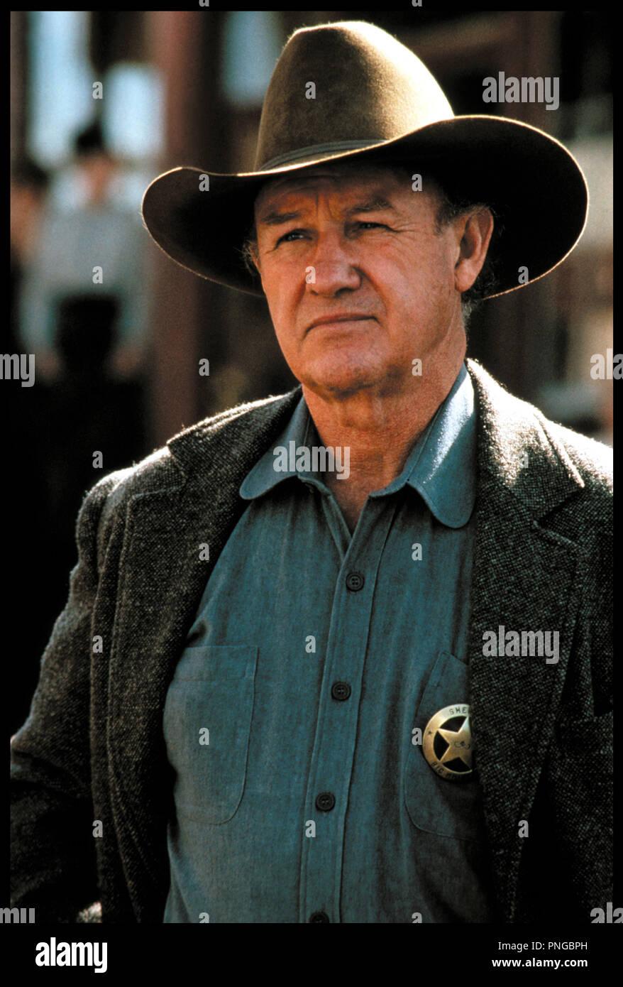 Prod DB © Malpaso - Warner Bros / DR IMPITOYABLE (UNFORGIVEN) de Clint Eastwood 1992 USA avec Gene Hackman sheriff - Stock Image