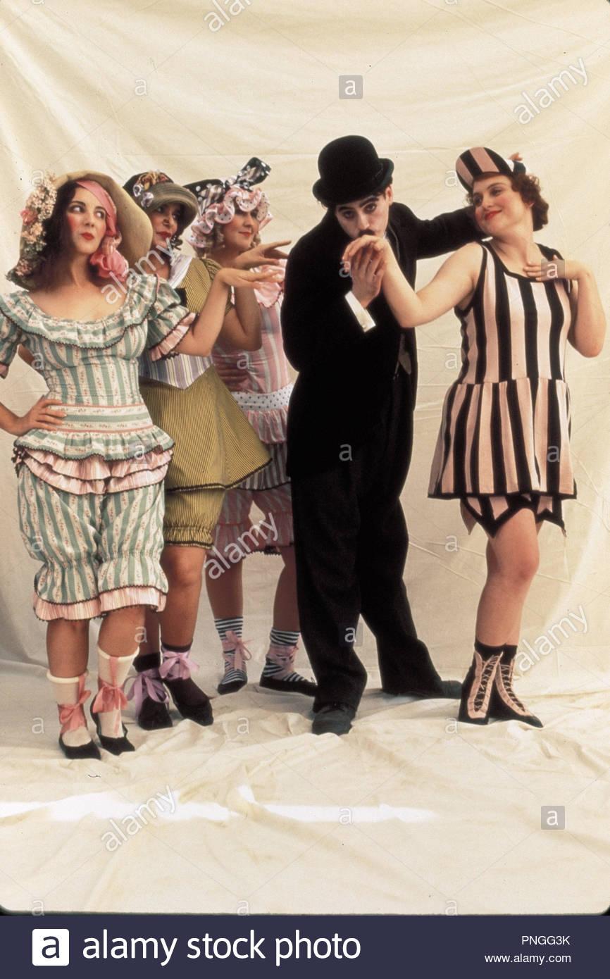 Original film title: CHAPLIN. English title: CHAPLIN. Year: 1992. Director: RICHARD ATTENBOROUGH. Stars: ROBERT DOWNEY JR.. Credit: CAROLCO/CANAL +/RCS VIDEO / JAMES, DAVID / Album - Stock Image