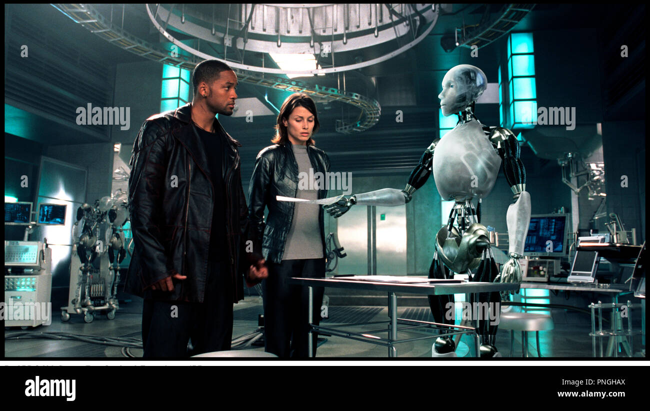 Veste en cuir will smith i robot