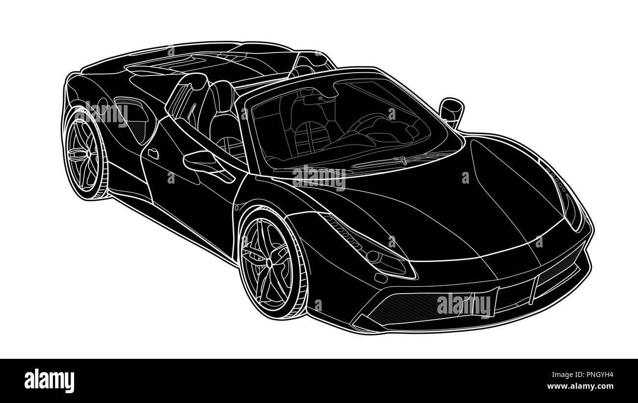 Sport Car Stock Vector Images Alamy