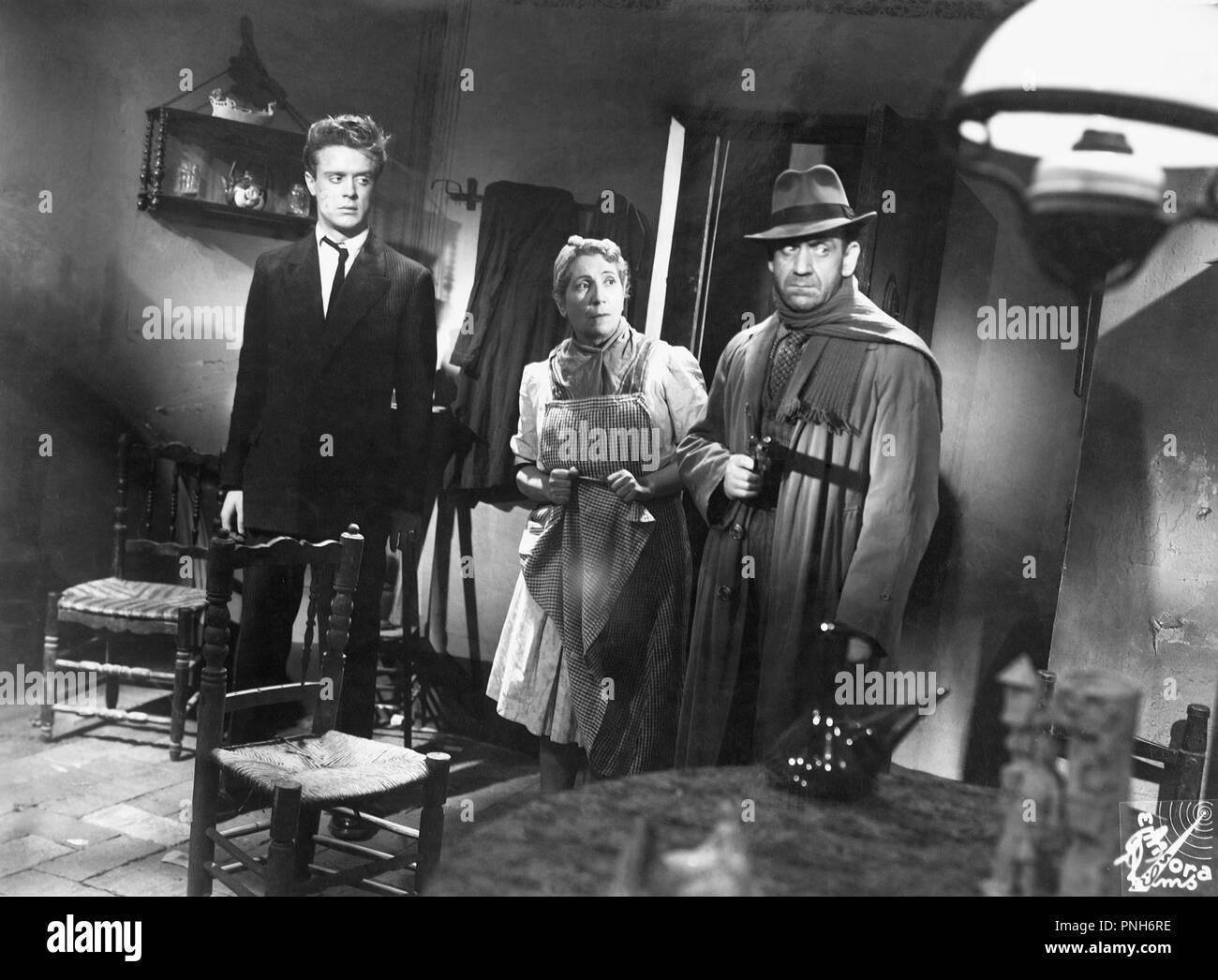 Original film title: HOMBRES SIN HONOR. English title: HOMBRES SIN HONOR. Year: 1944. Director: IGNACIO F. IQUINO. Credit: EMISORA FILMS / Album - Stock Image