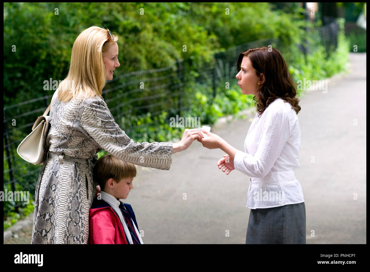 Laura Linney Nanny Diaries 2007 Stock Photos Images