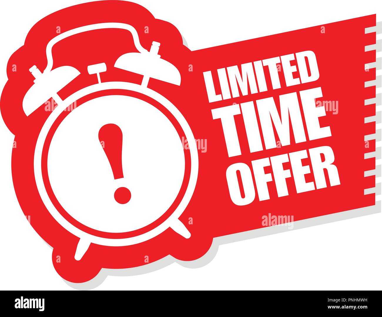 Limited Time Offer Sticker