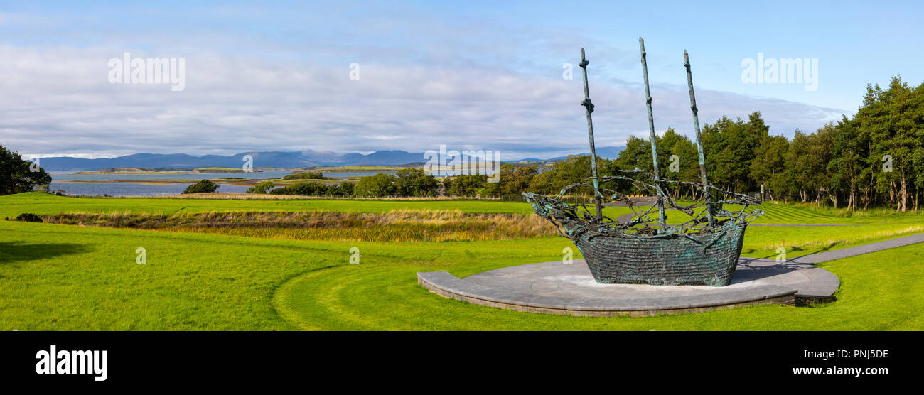 18e006ac98382 County Mayo, Republic of Ireland - August 20th 2018: A view of the National