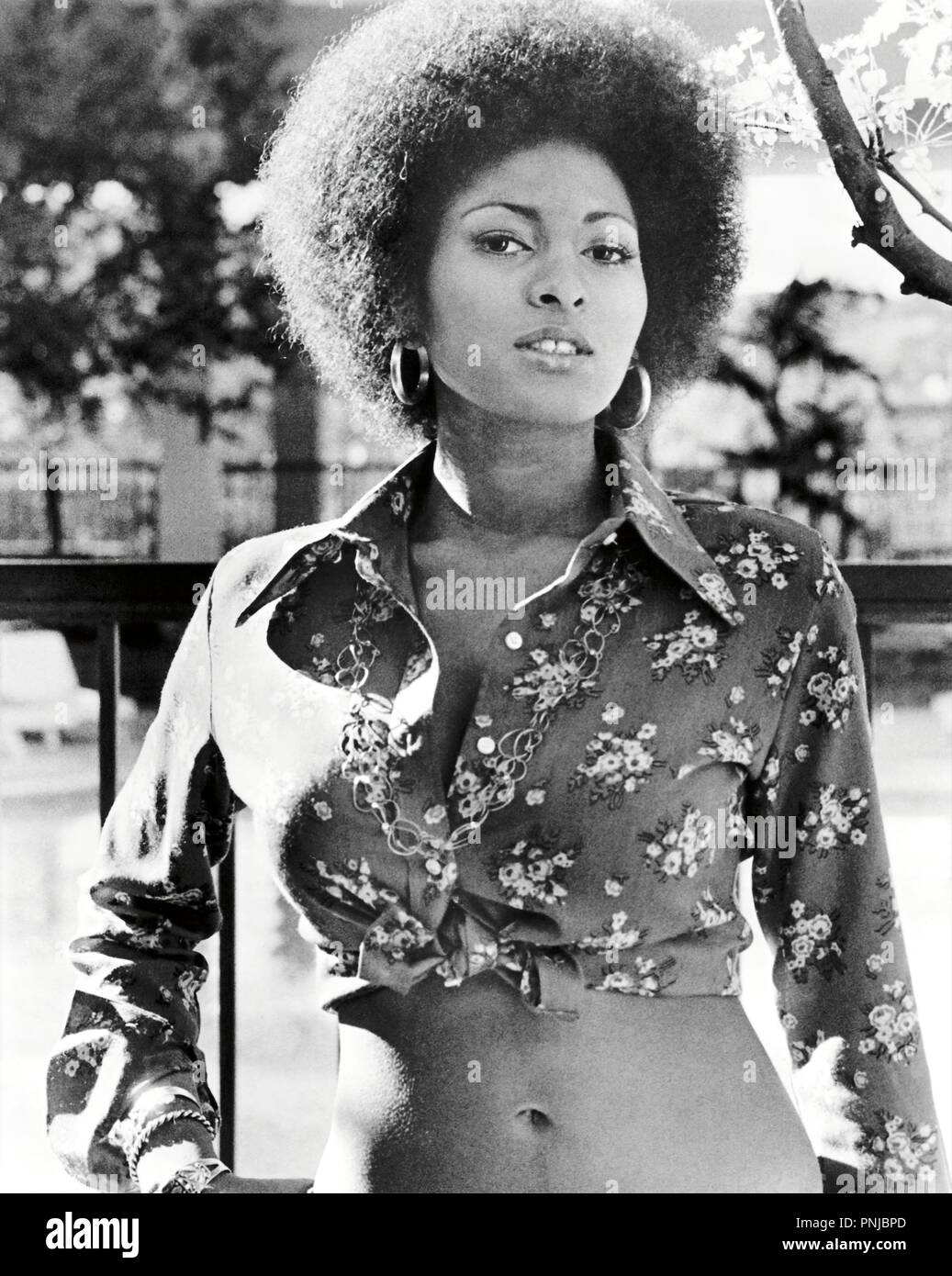 Original film title: COFFY. English title: COFFY. Year: 1973. Director: JACK HILL. Stars: PAM GRIER. Credit: AIP / Album - Stock Image