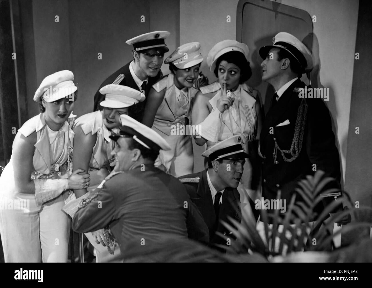 Original film title: ABAJO LOS HOMBRES. English title: ABAJO LOS HOMBRES. Year: 1936. Director: JOSE MARIA CASTELLVI. Credit: EDICI / Album - Stock Image