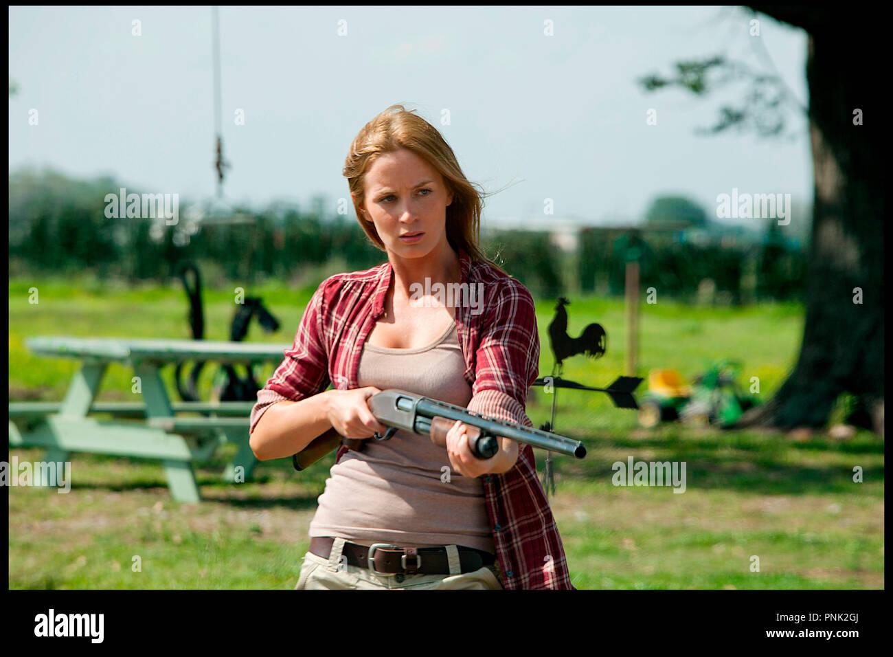 Prod DB © DMG Entertainment - Endgame Entertainment - FilmDistrict / DR LOOPER de Rian Johnson 2012 USA avec Emily Blunt - Stock Image
