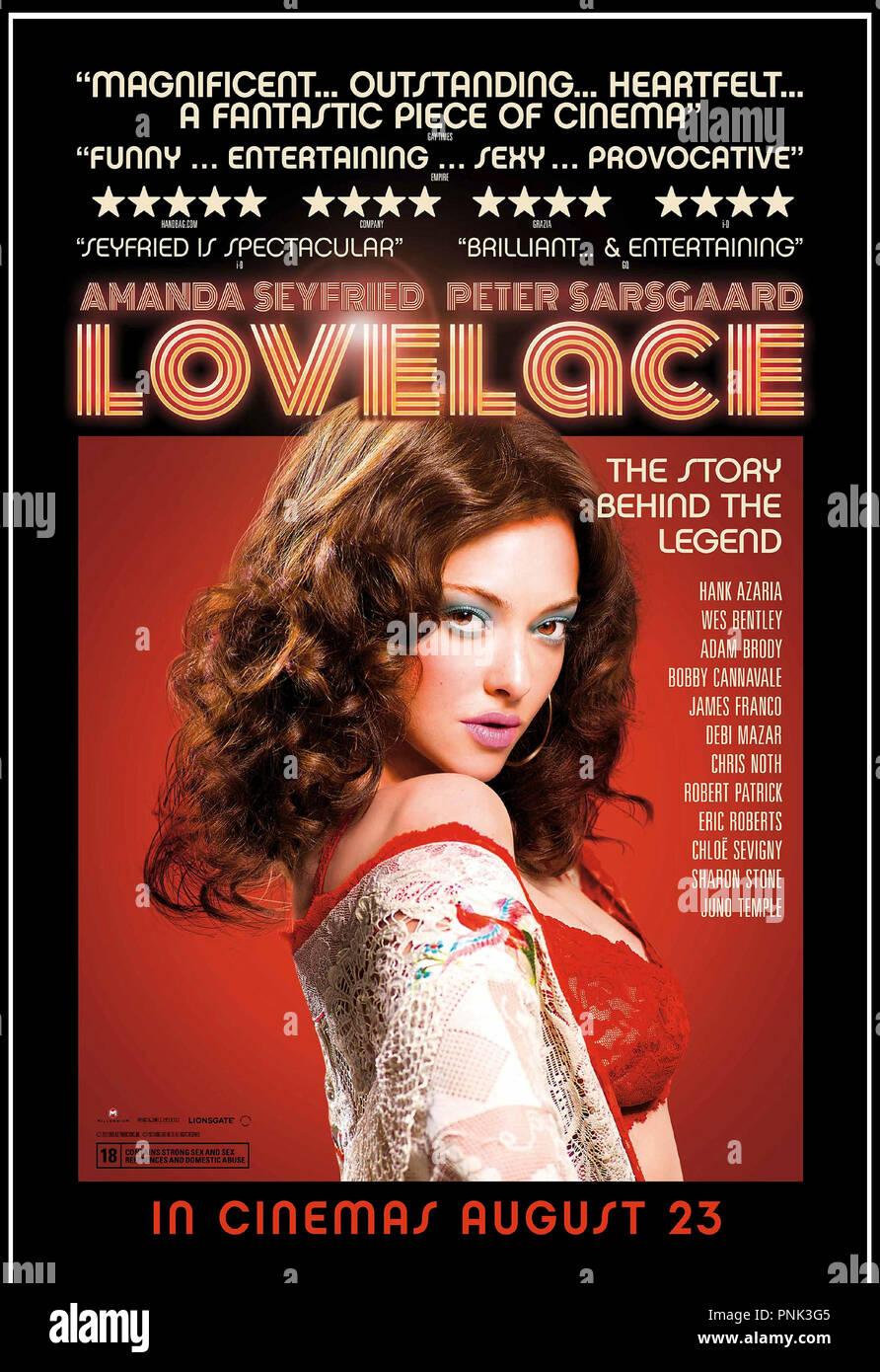 Linda Lovelace films porno photos de Dick blanc