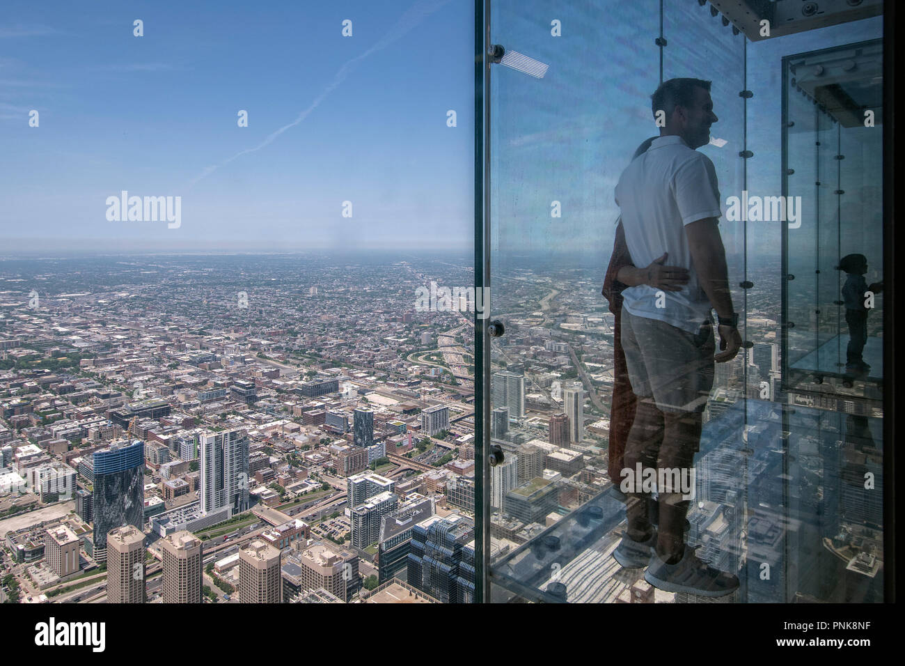 The Ledge Glass Balcony On 103rd Floor Willis Tower Downtown Chicago