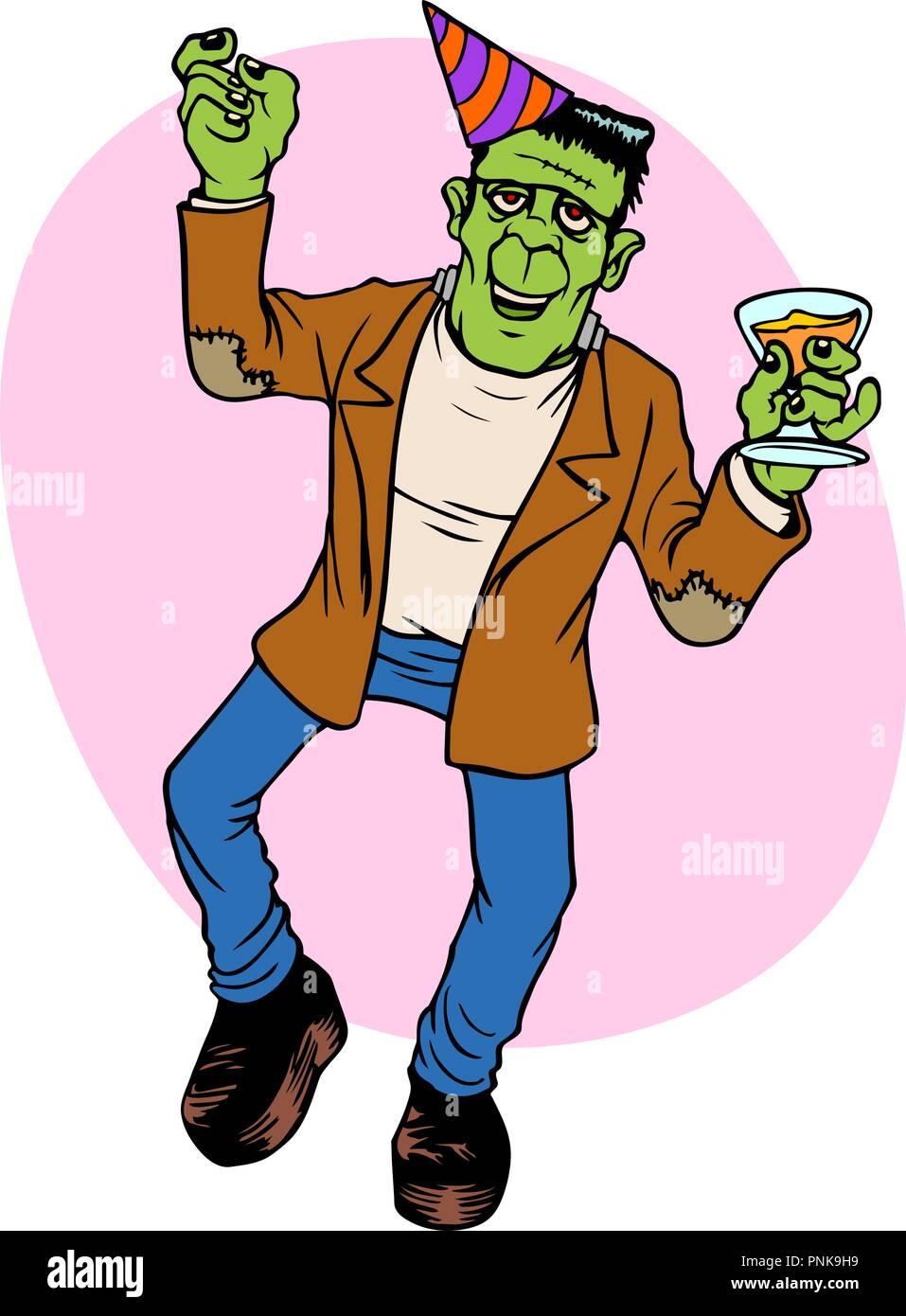 Frankenstein Monster Vector Vectors Stock Photos & Frankenstein ...