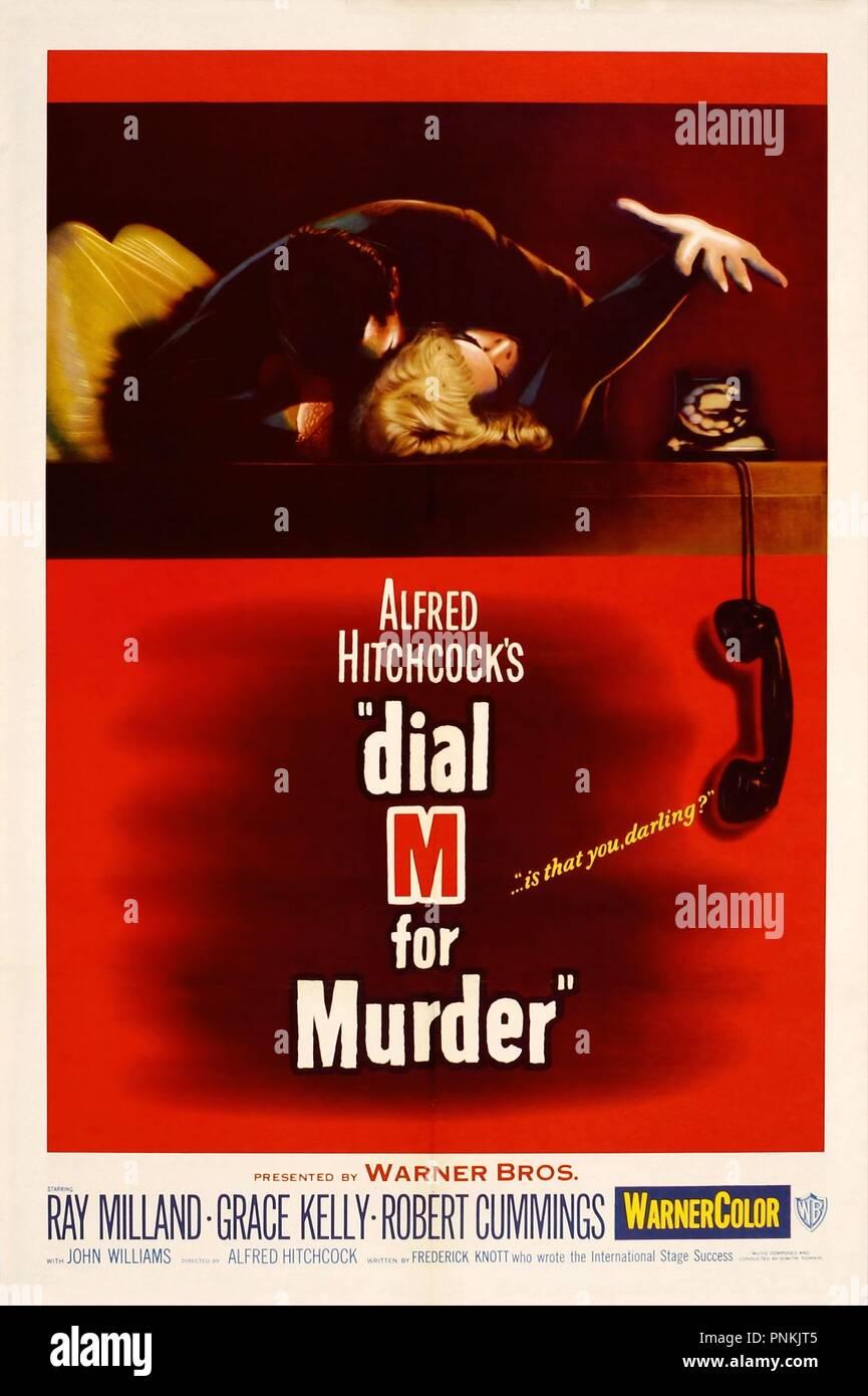 539ed1dd9b84 Original film title  DIAL M FOR MURDER. English title  DIAL M FOR MURDER.  Year  1954. Director  ALFRED HITCHCOCK. Credit  WARNER BROS.   Album