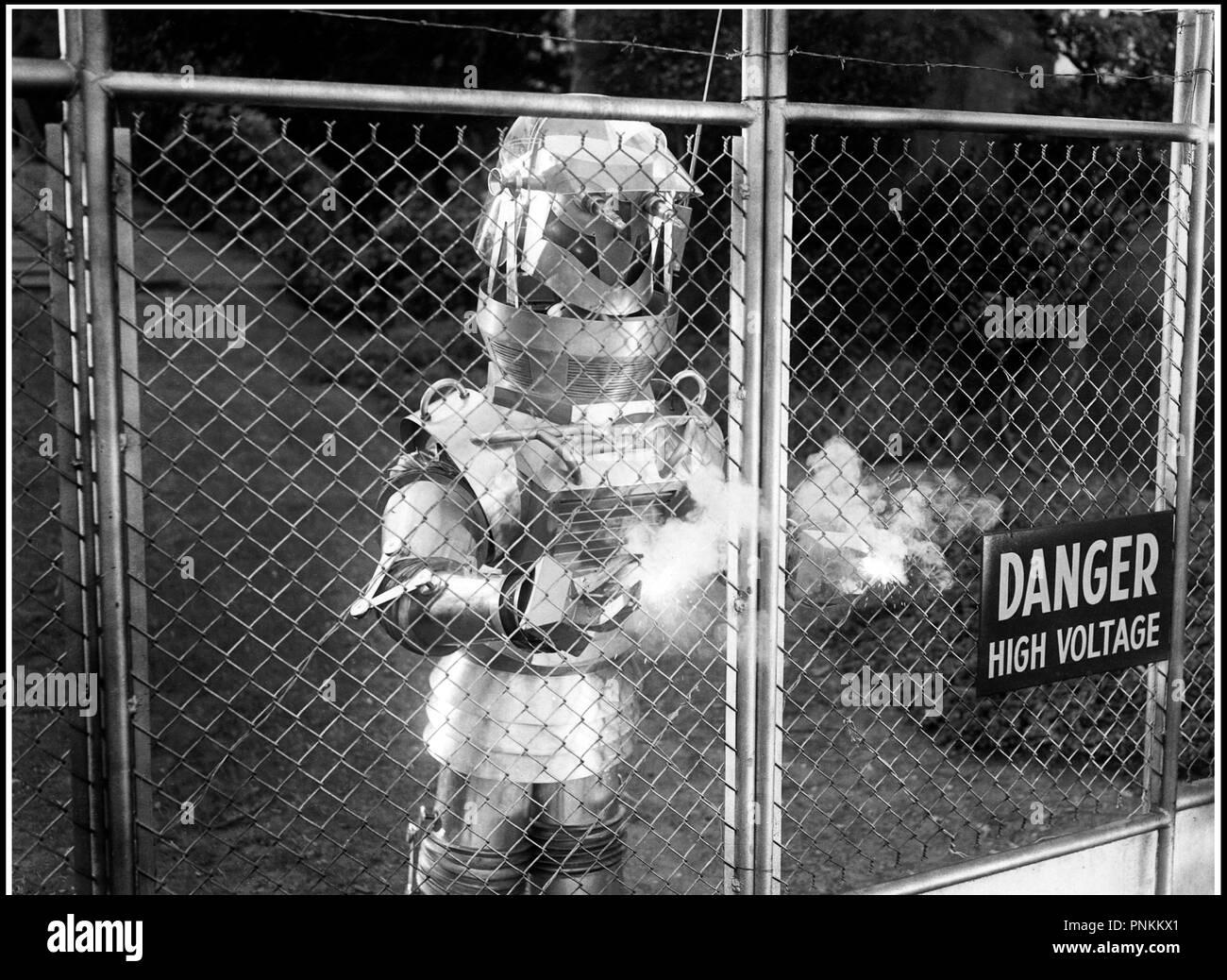 Prod DB © Republic Pictuires / DR LE MAITRE DU MONDE (TOBOR THE GREAT) de Lee Sholem 1954 USA robot, envahisseur, extra-terrestre code 6063 - Stock Image