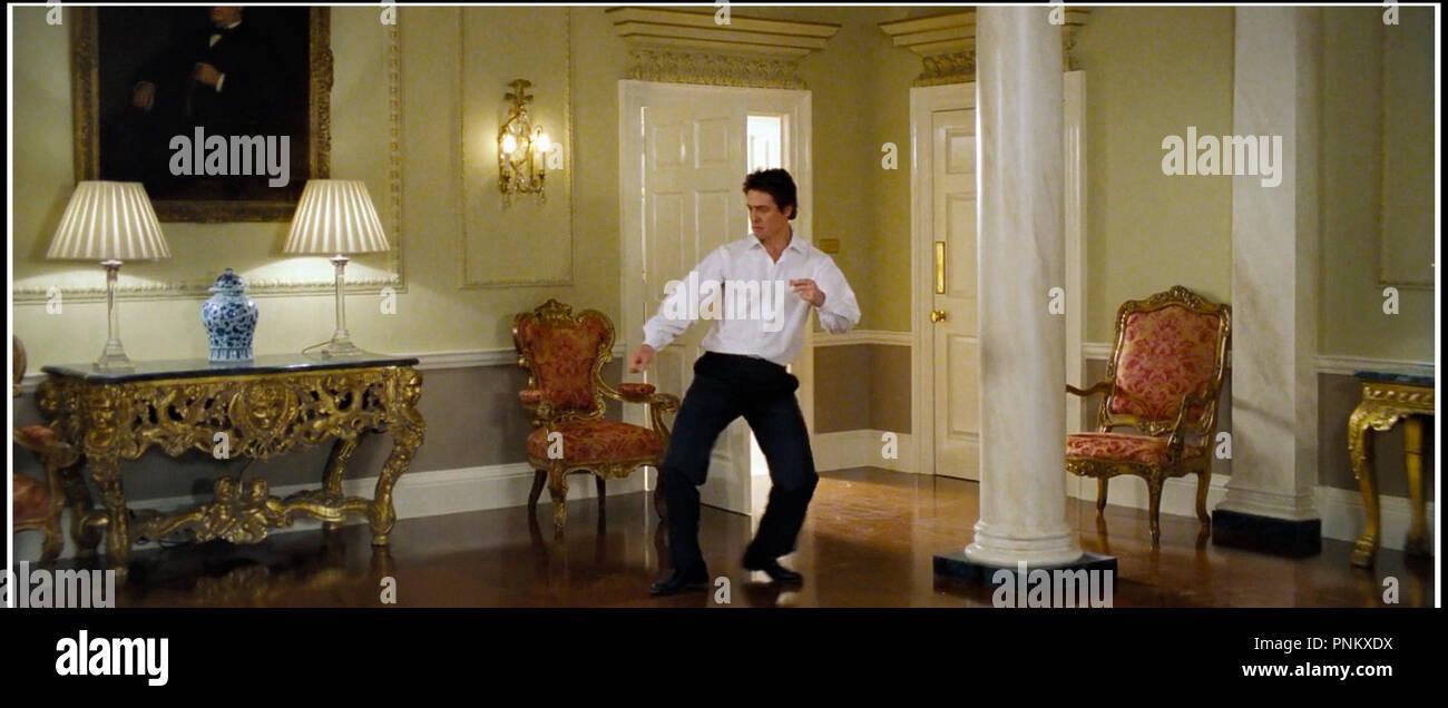 Prod DB © Universal / DR LOVE ACTUALLY de Richard Curtis 2003 USA avec Hugh Grant  danser - Stock Image