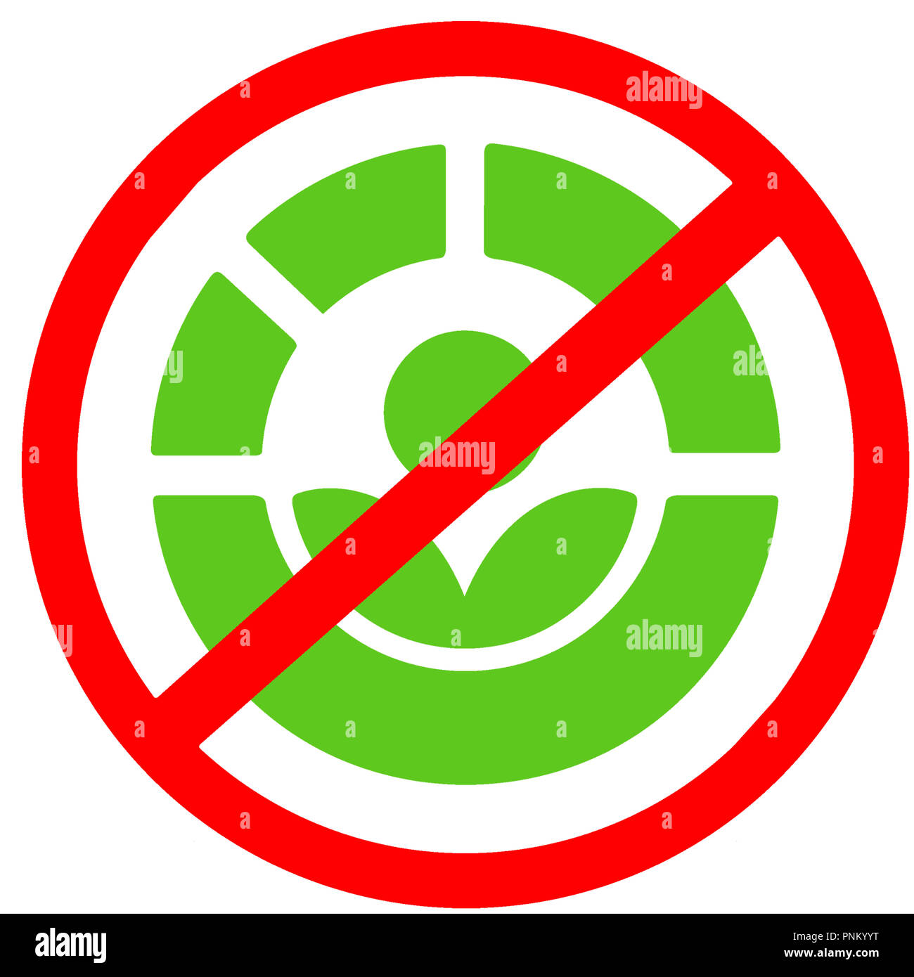 The Radura Process Not Allowed Disenfection For Food Red Circular