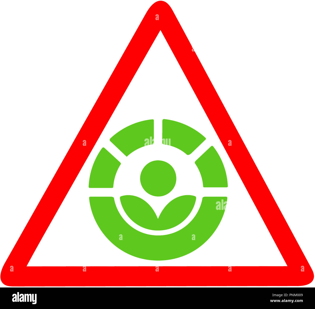 The Radura Process Warning For Food Disenfection Red Circular Road