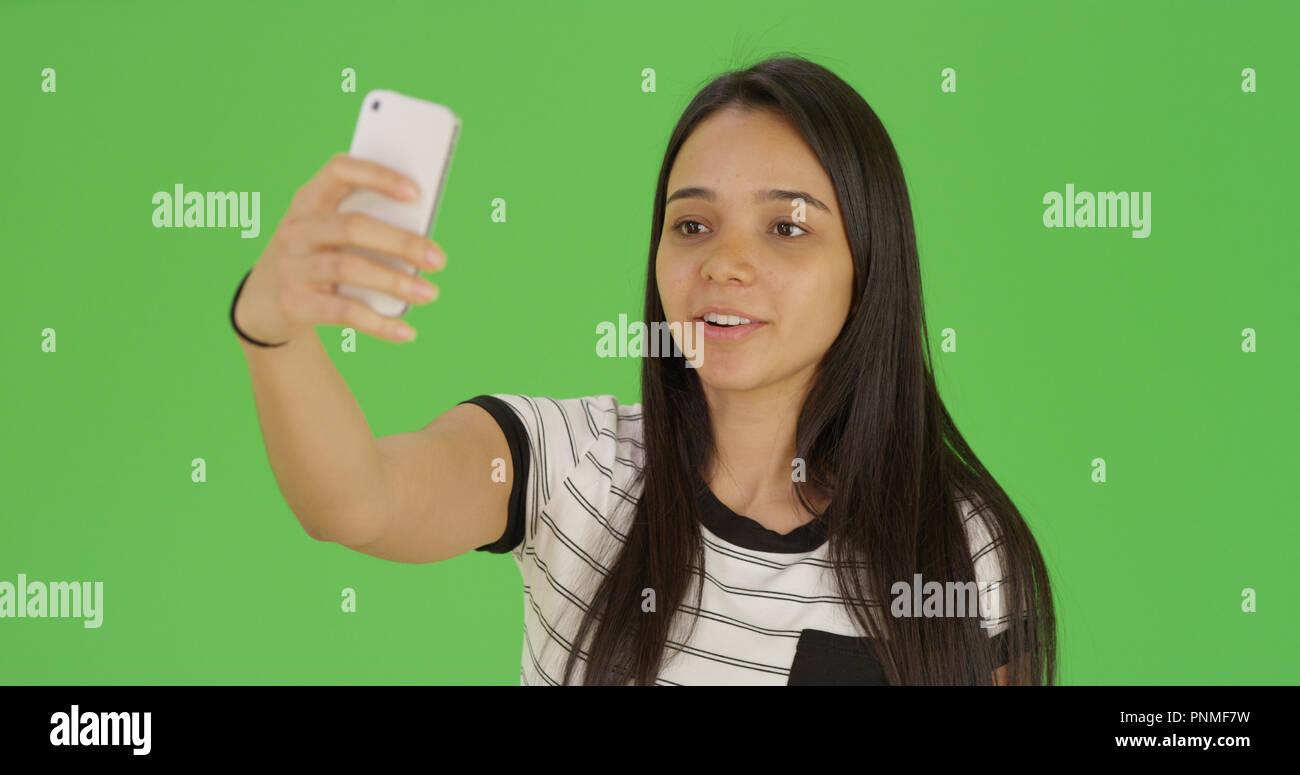 Teen selfie Miley Cyrus