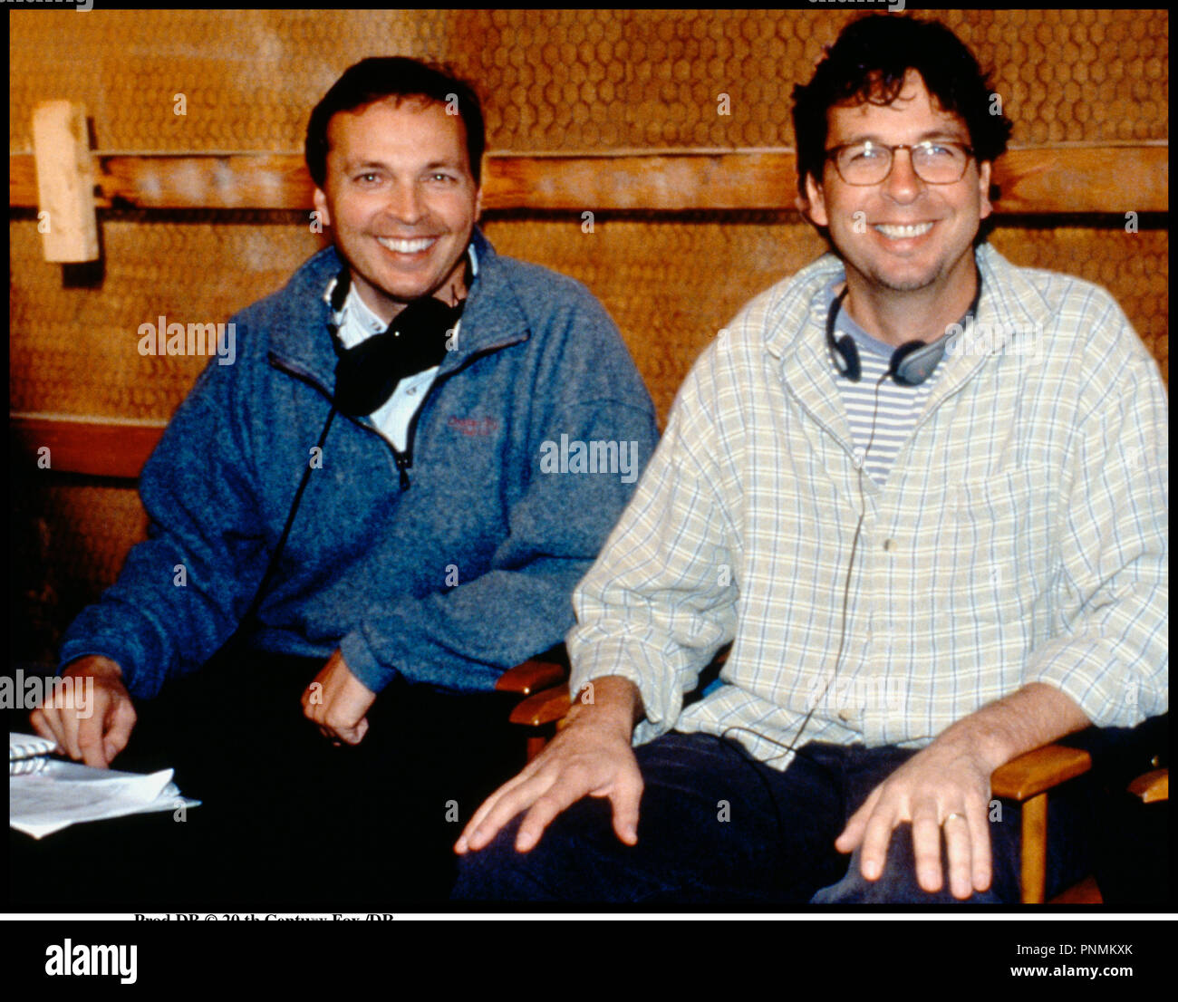 Prod DB © 20 th Century Fox /DR MARY A TOUT PRIX (THERE'S SOMETHING ABOUT MARY) de Bobby et Peter Farrelly 1998 USA avec Bobby Farrelly et Peter Farrelly surle tournage realisateurs - Stock Image