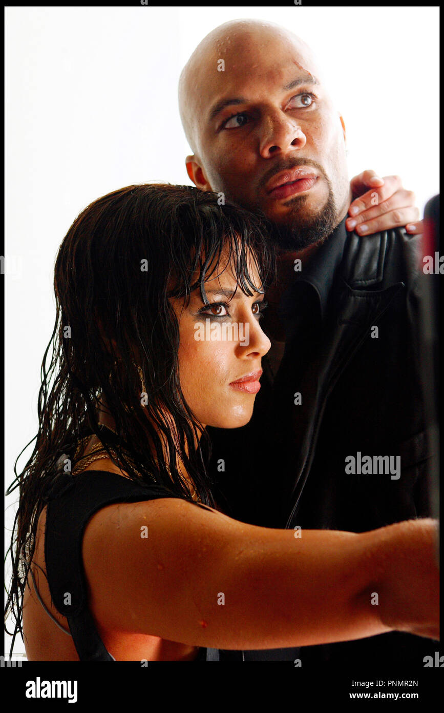 Prod DB ©Working Title - Universal / DR MI$E A PRIX (SMOKIN' ACES) de Joe Carnahan 2007 USA / GB / FRA  avec Alicia Keys et Common - Stock Image