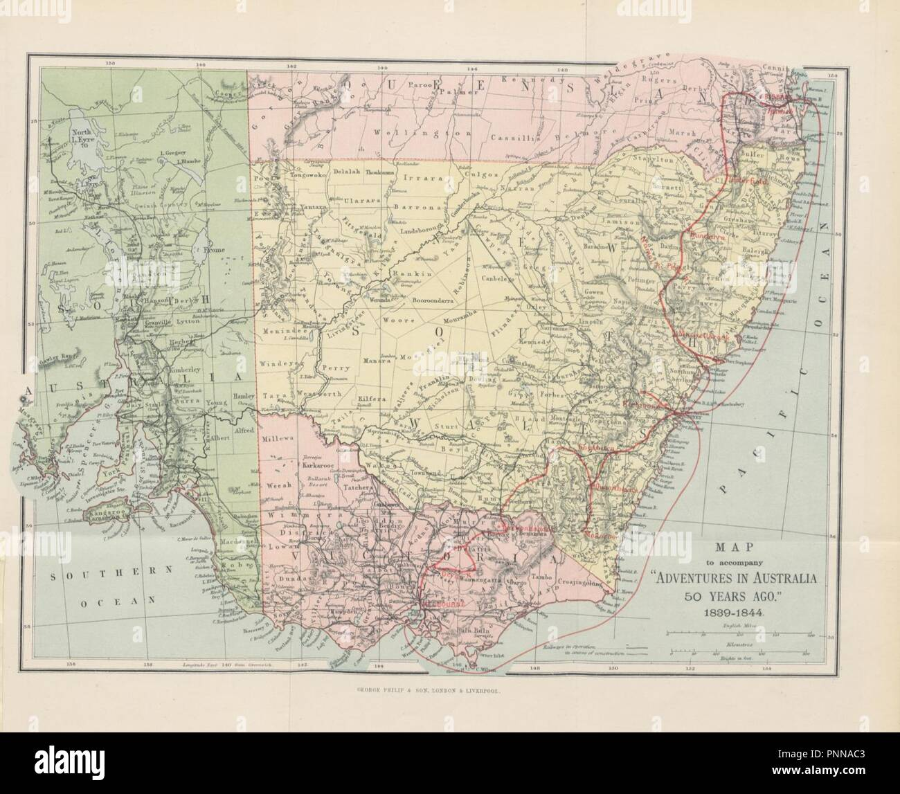 5762c8300b1 Being a record of an emigrant's wanderings through the colonies of New  South Wales, Victoria and Queensland during the years 1839-1844.