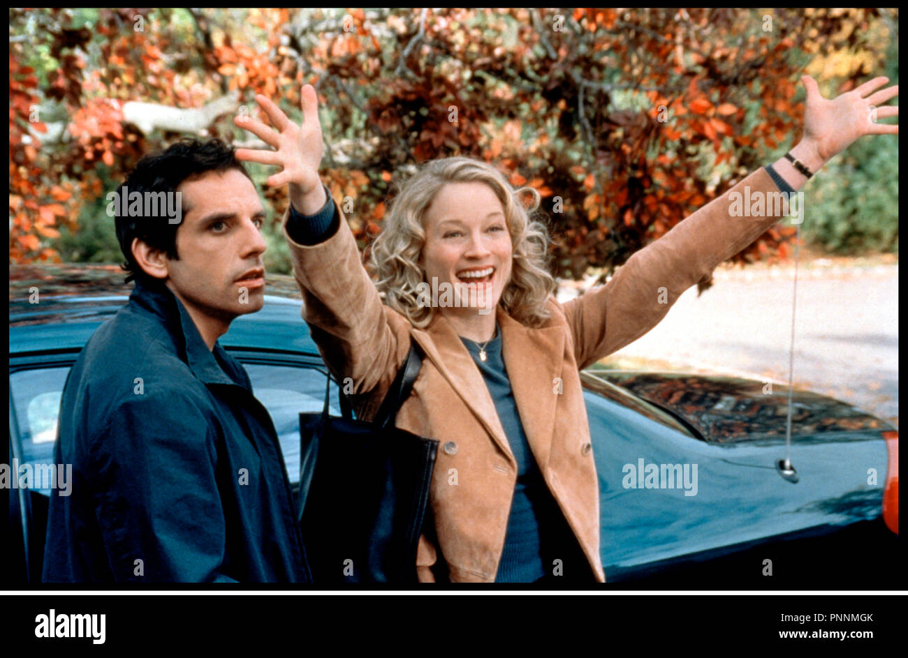 Prod DB © Universal / DR MON BEAU-PERE ET MOI (MEET THE PARENTS) de Jay Roach 2000 USA avec Ben Stiller et Teri Polo - Stock Image