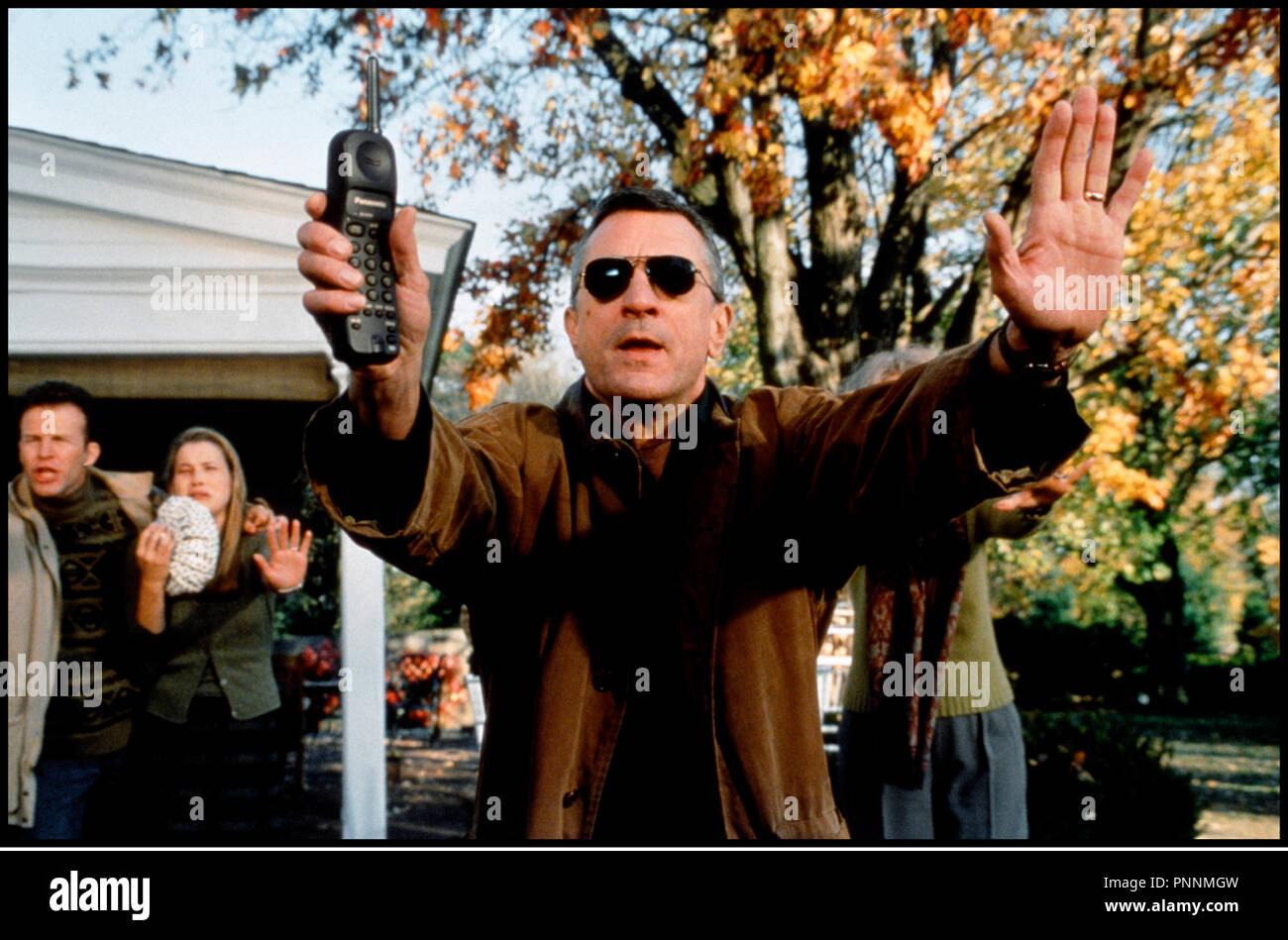 Prod DB © Universal / DR MON BEAU-PERE ET MOI (MEET THE PARENTS) de Jay Roach 2000 USA avec Robert DeNiro stopper, arreter, accident de voiture - Stock Image