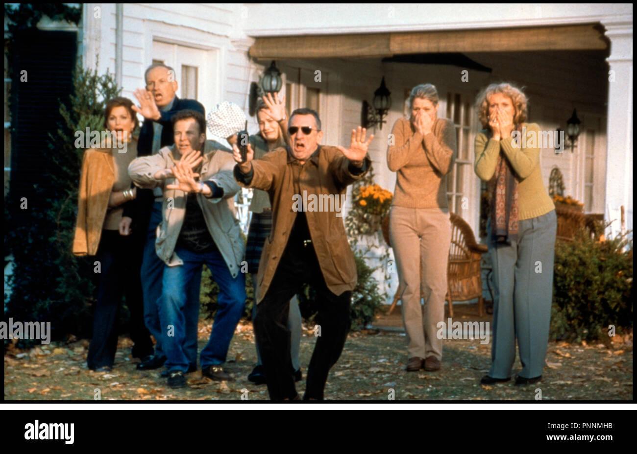 Prod DB © Universal / DR MON BEAU-PERE ET MOI (MEET THE PARENTS) de Jay Roach 2000 USA avec Robert De Niro, Blythe Danner et Teri Polo accident, catastrophe - Stock Image