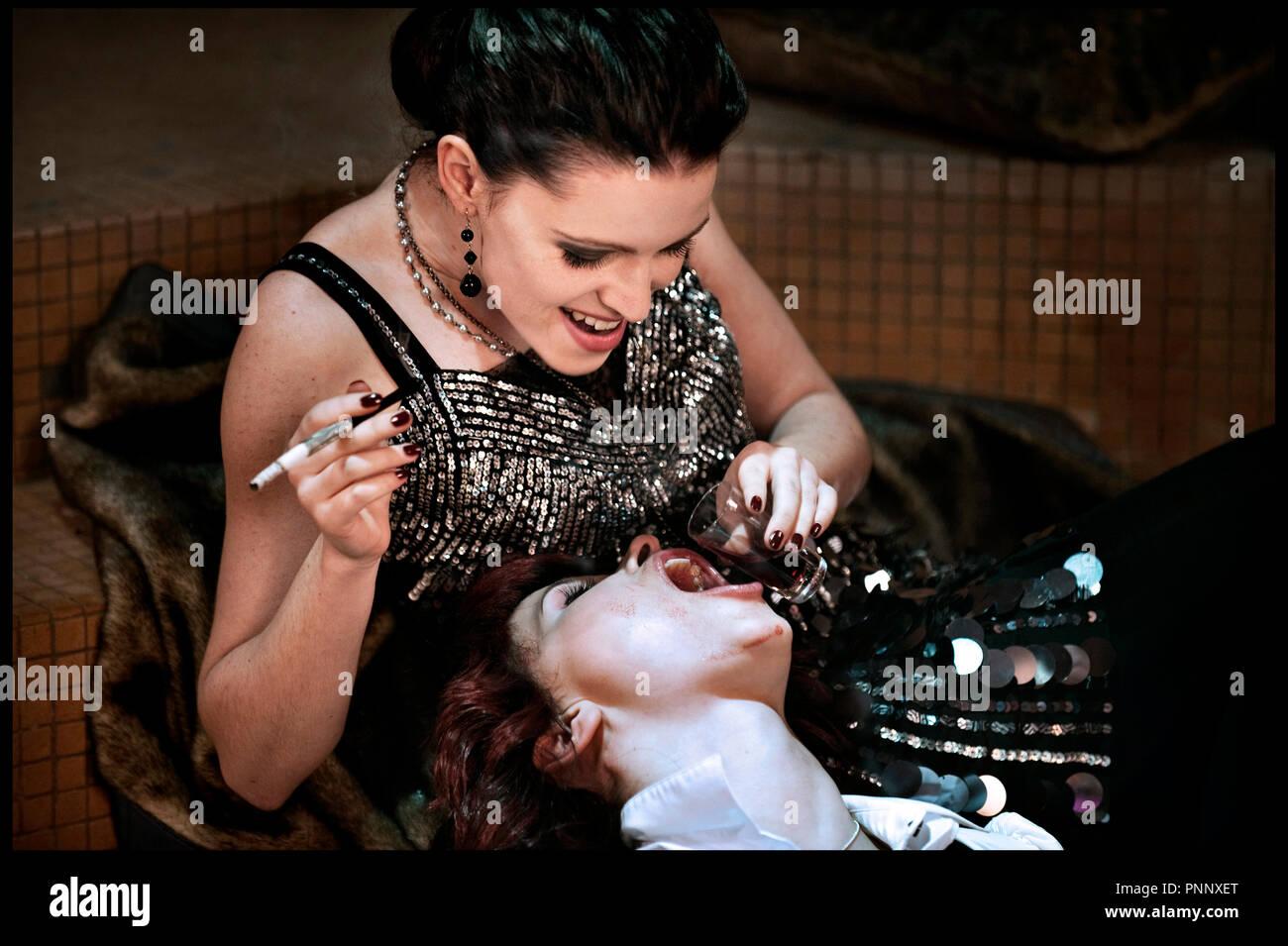 Vampier orgieën