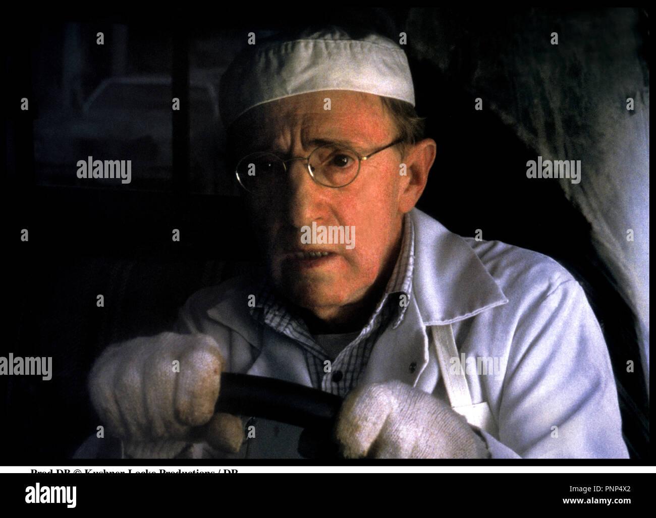 Prod DB © Kushner-Locke Productions / DR  MORCEAUX CHOISIS (PICKING UP THE PIECES) de Alfonso Arau 2000 USA avec Woody Allen ambulancier, conduire voiture, volant - Stock Image
