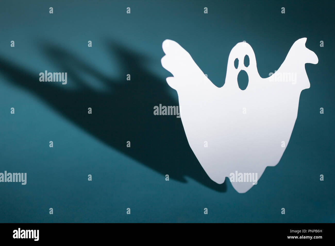 Halloween background decor holiday concept  Funny ghost