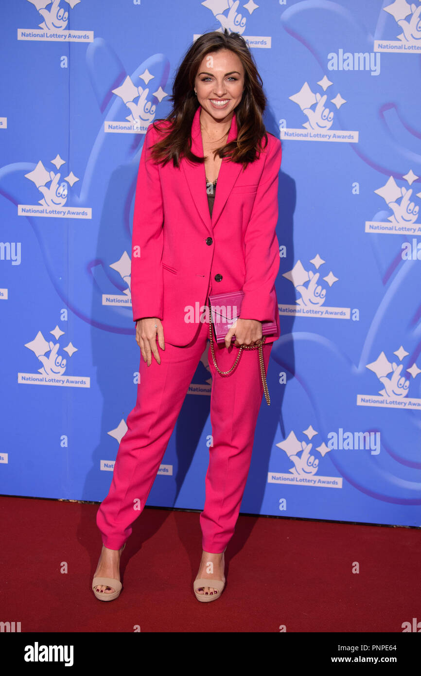 London, UK. 21st Set 2018. Louisa Lytton at the National Lottery Awards 2018 at the BBC Television Centre, London. Picture: Steve Vas/Featureflash Credit: Paul Smith/Alamy Live News Stock Photo