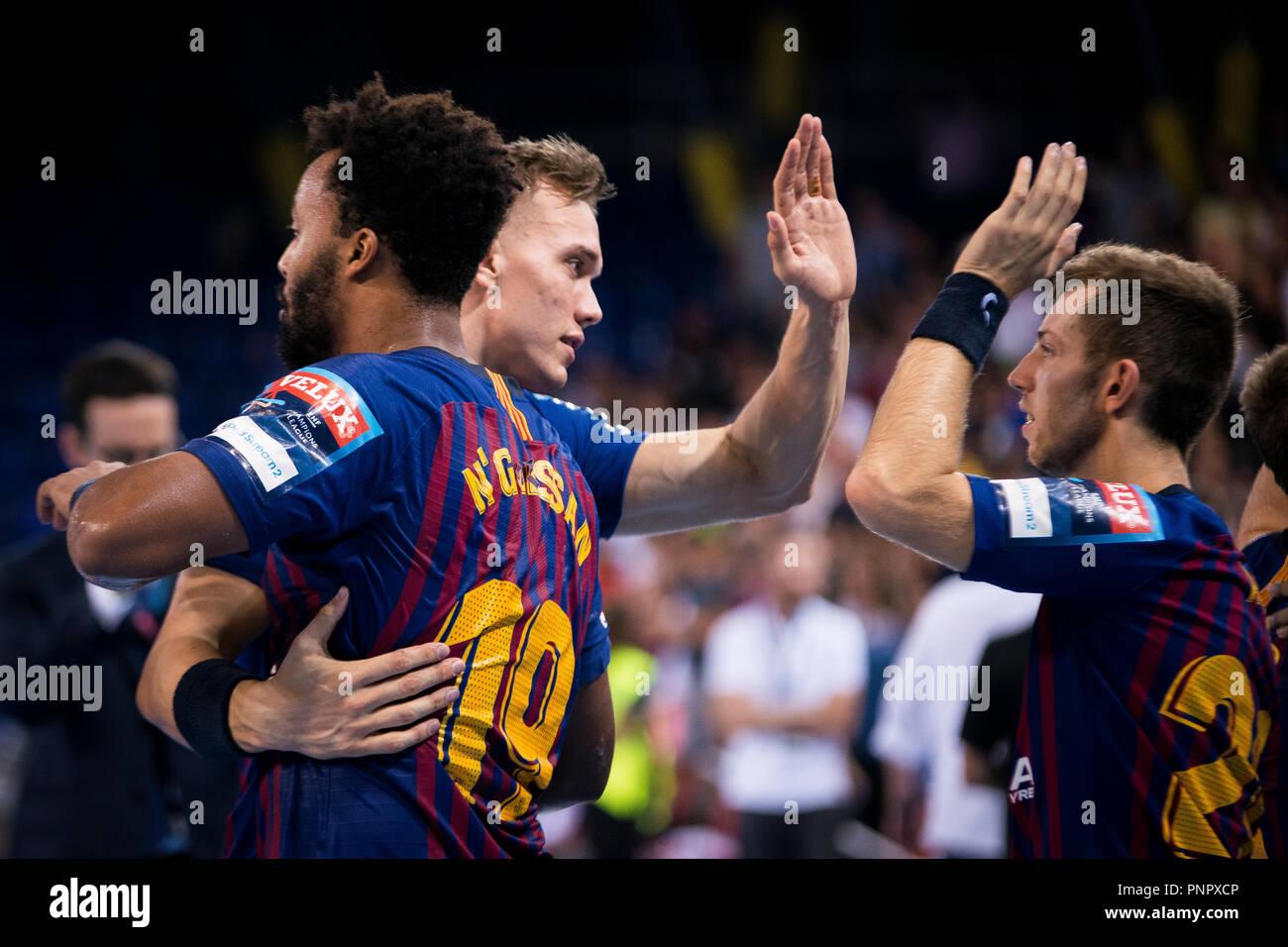 Barcelona Spain 22 September 2018 Ehf Champions League Velux