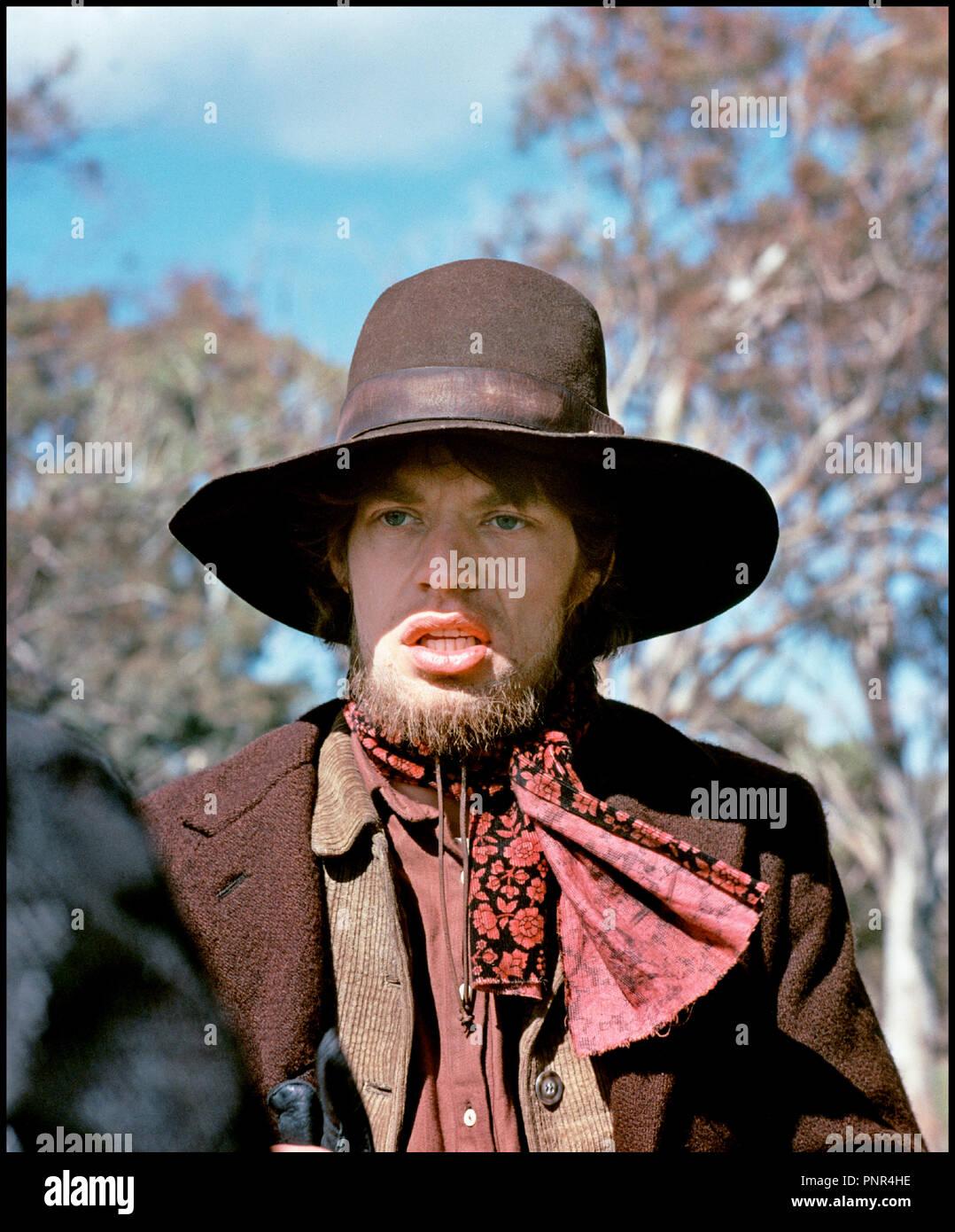 Prod DB © Woodfall Film Productions / DR NED KELLY de Tony Richardson 1970 GB avec Mick Jagger biographie, biopic, historique, western, bandit - Stock Image