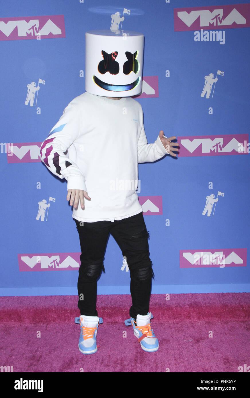 2018 MTV Video Music Awards - Arrivals Featuring: DJ Marshmello