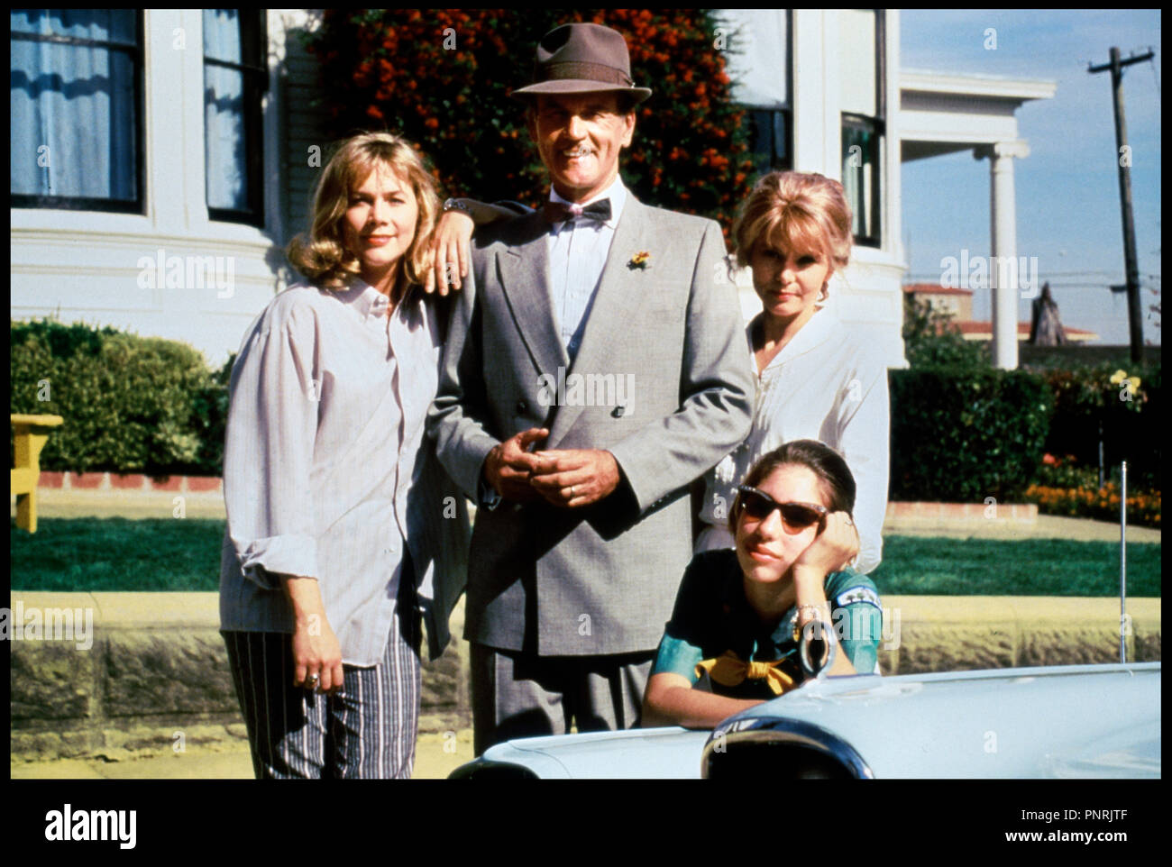 Prod DB © Tristar / DR PEGGY SUE S'EST MARIEE (PEGGY SUE GOT MARRIED) de Francis Ford Coppola 1986 USA avec Kathleen Turner, Don Murray, Barbara Harris et Sofia Coppola famille - Stock Image