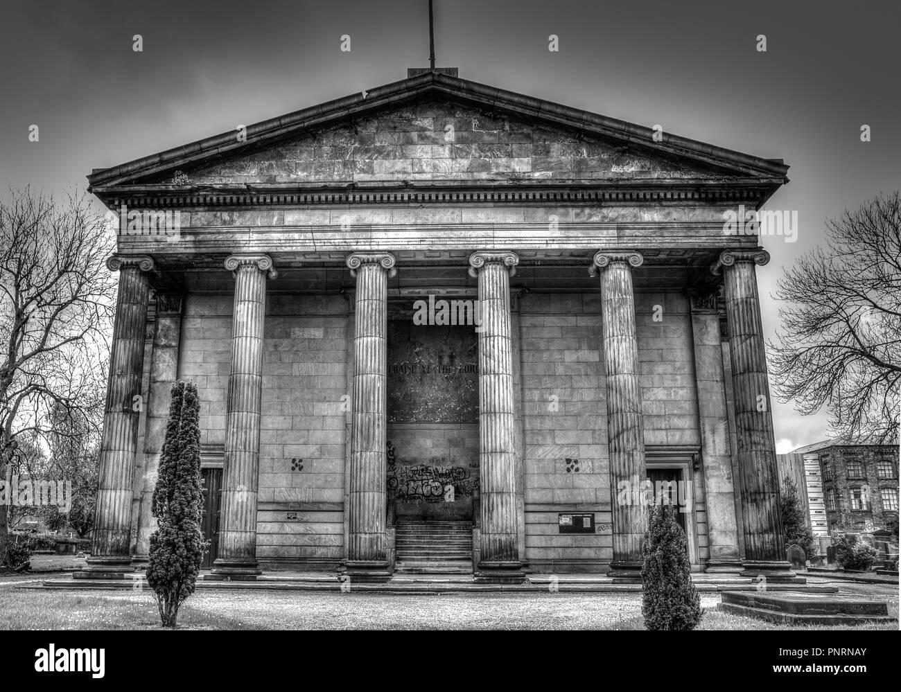St Thomas church, Stockport, UK - Stock Image