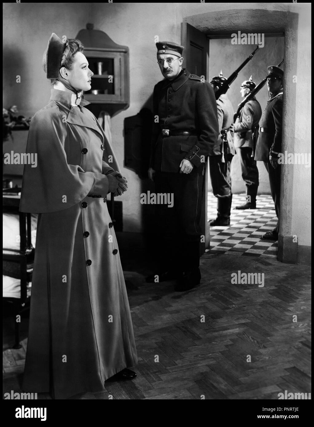 Prod DB © Imperadio / DR NURSE EDITH CAVELL (NURSE EDITH CAVELL) de Herbert Wilcox 1939 GB avec Anna Neagle d'apres l'autobiographie d'Edith Cavell - Stock Image