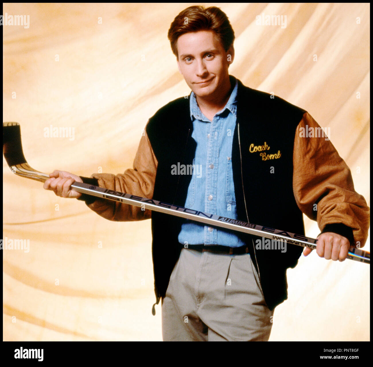 Prod DB © Walt Disney / DR LES PETITS CHAMPIONS (THE MIGHTY DUCKS) de Stephen Herek 1992 USA avec Emilio Estevez - Stock Image
