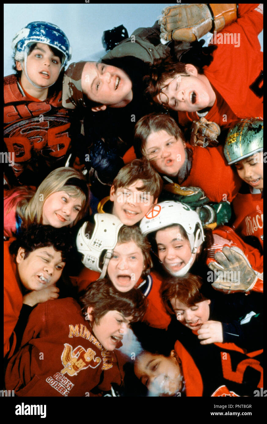 Prod DB © Walt Disney / DR LES PETITS CHAMPIONS (THE MIGHTY DUCKS) de Stephen Herek 1992 USA hockeu sur glace, sport, enfants, - Stock Image
