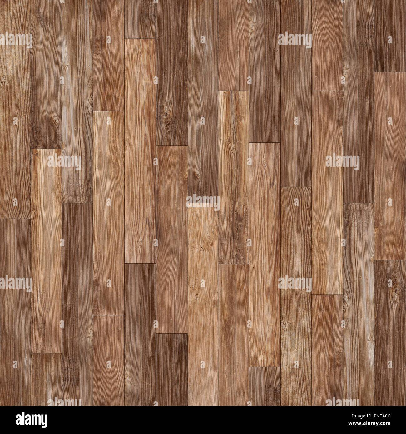 Seamless wood texture, hardwood floor texture background - Stock Image