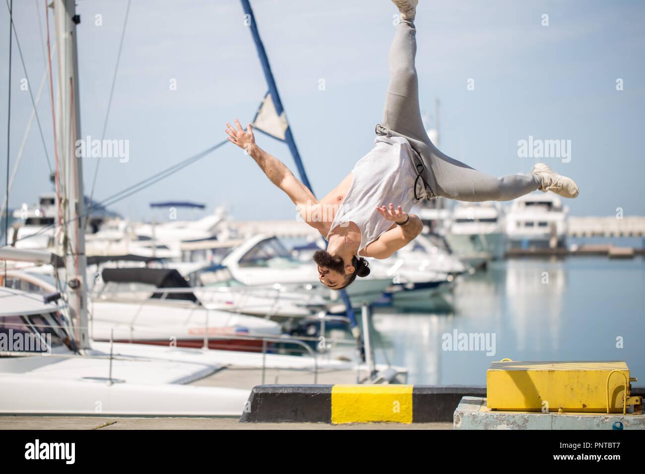 Squat Jump Stock Photos & Squat Jump Stock Images - Alamy