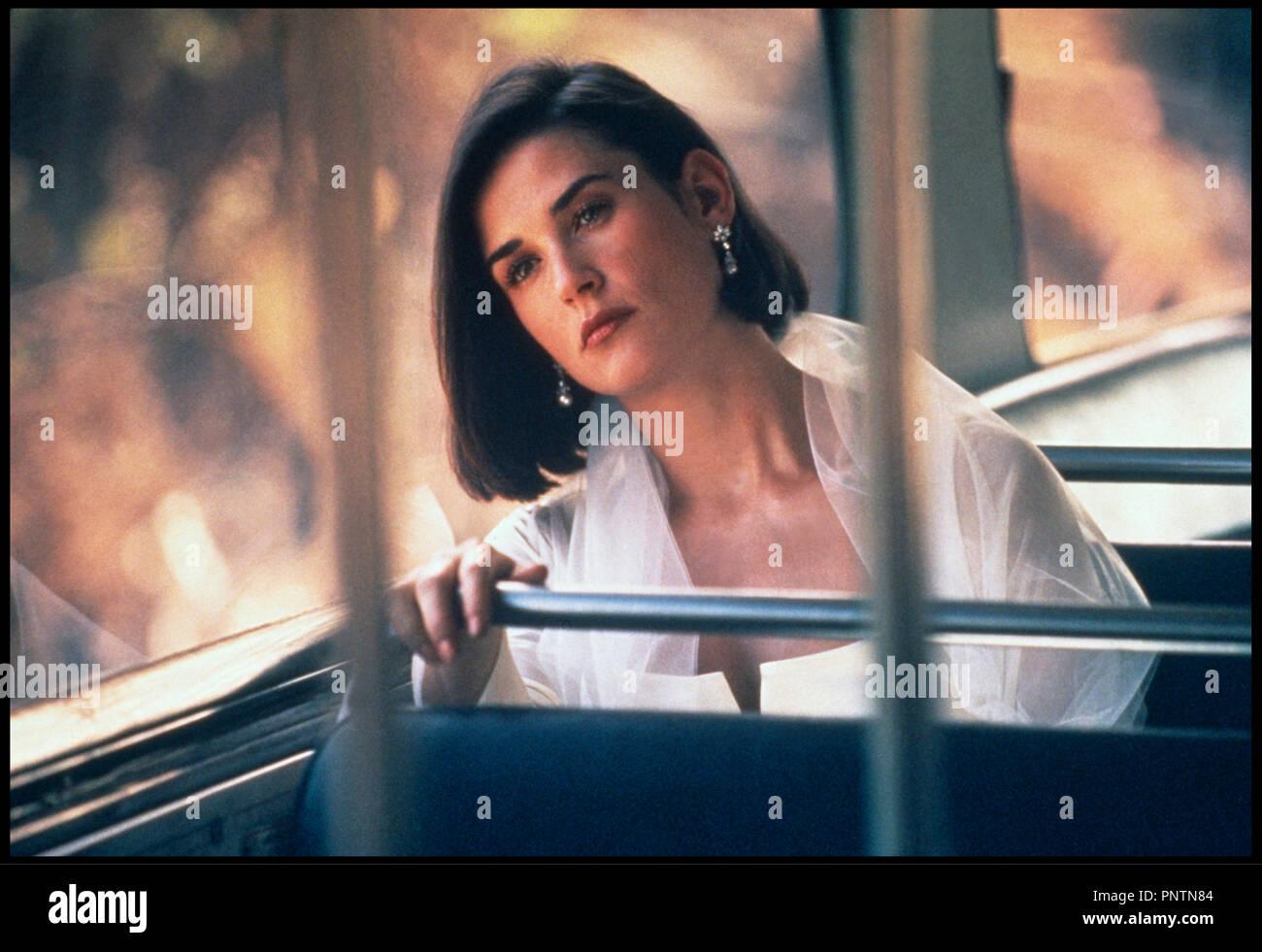 Prod DB ©ÊParamount / DR PROPOSITION INDECENTE (INDECENT PROPOSAL) de Adrian Lyne 1993 USA avec Demi Moore nostalgie - Stock Image
