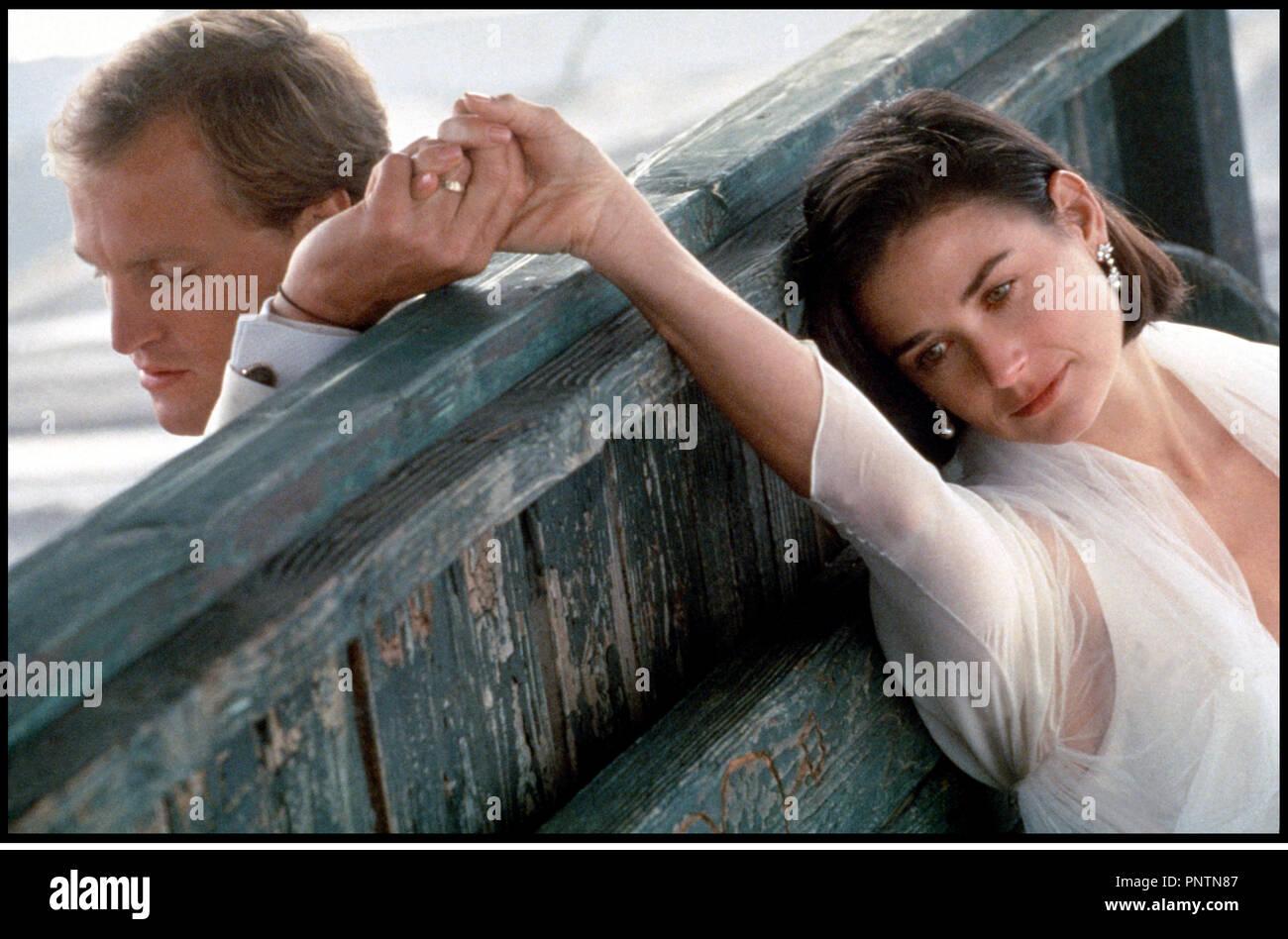 Prod DB ©ÊParamount / DR PROPOSITION INDECENTE (INDECENT PROPOSAL) de Adrian Lyne 1993 USA avec Woody Harrelson et Demi Moore union, mariage, tragedie, solidarite, soutien, tristesse, - Stock Image