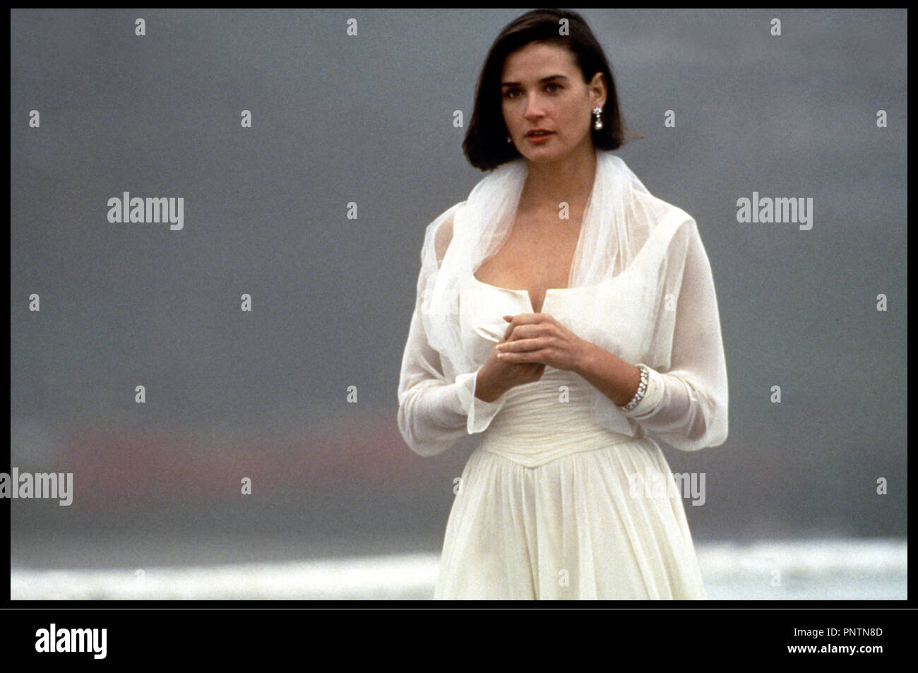 Prod DB ©ÊParamount / DR PROPOSITION INDECENTE (INDECENT PROPOSAL) de Adrian Lyne 1993 USA avec Demi Moore candeur, innocence, blanc - Stock Image