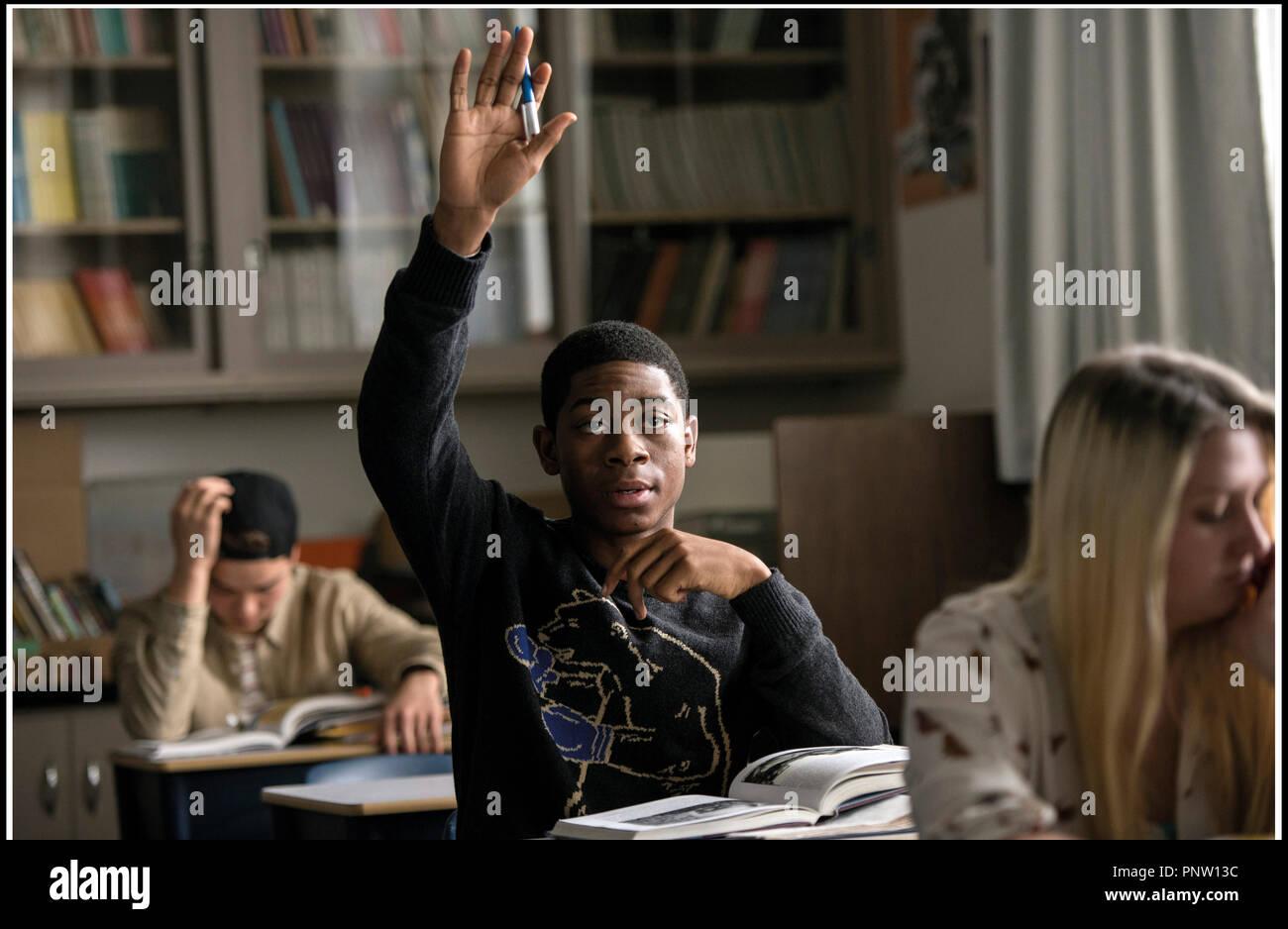 Prod DB © Lionsgate - Saban Brands -Saban Entertainment / DR POWER RANGERS de Dean Israelite 2017 USA avec RJ Cyler fantastique, action, super heros d'apres la serie TV 'Mighty Morphin Power Rangers' créée par Haim Saban et Shuki Levy - Stock Image